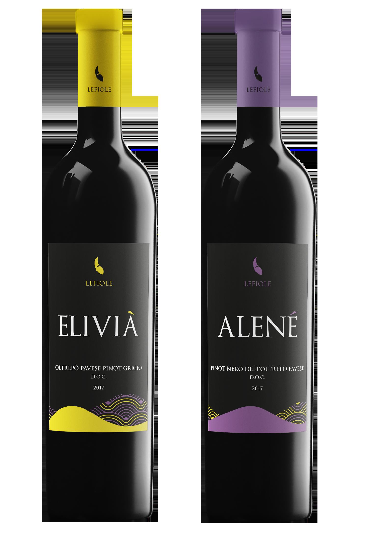 elivià alené elivia alene pinot nero pinot grigio lefiole vini azienda agricola piaggi oltrepo montalto pavese
